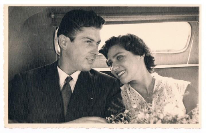 Mariage de Jean-Pierre et Marcelle Rosnay