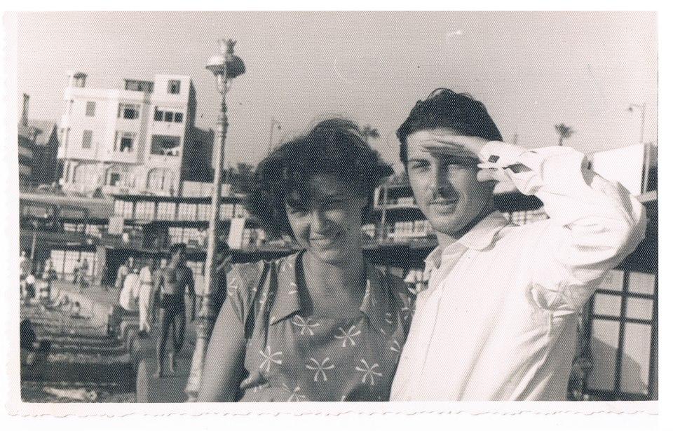 Jean-Pierre et Marcelle Rosnay à Alexandrie dans les années 50