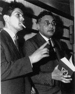 Jean-Pierre Rosnay avec Raymond Queneau