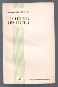 Les Cheveux dans les Yeux, JAR, 1951