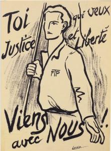 Affiche FTP de Robert Petit Lorraine