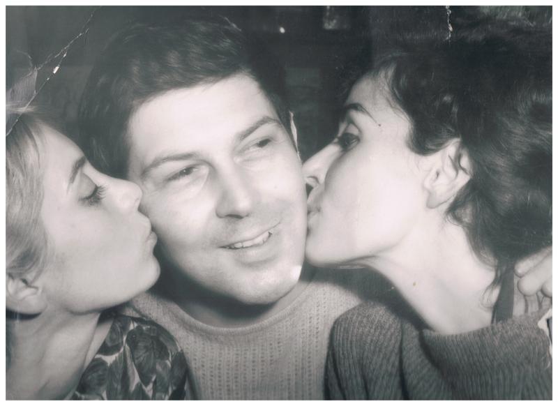 Jean-Pierre Rosnay, Isabelle Aulnoy et une autre dame